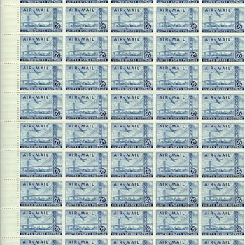 Sheet of Bay Bridge Stamps - Stamps