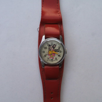 Mighty Mouse Wristwatch - Wristwatches