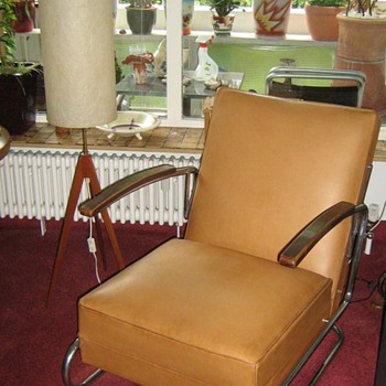 Steel Tube Chair - Furniture