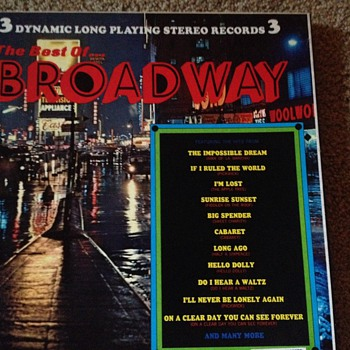 The Best of Broadway - Records