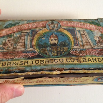 Turkish Tobacco Tin - Tobacciana