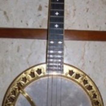Custom Ludwig banjo uke