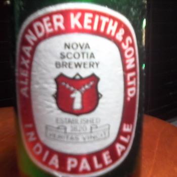 """Alexander Keith's & Sons """" Stubby"""" Beer Bottle - Bottles"""