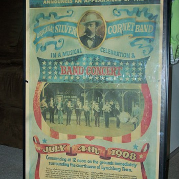 1908 4th of July Jack Newton Daniel's (24 w X 36 H)