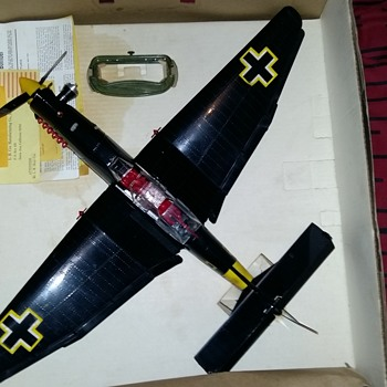 Cox's Stuka Ju87d attic find.
