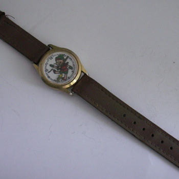 Pinocchio & Bumble Bee Watch - Wristwatches