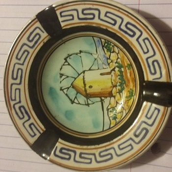 D vassilopolous pottery ashtray