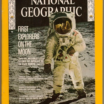 1969 - First Explorers on the Moon