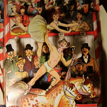Reproduction Circus Pop-up Book - Books