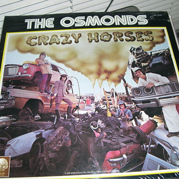 SEALED THE OSMONDS CRAZY HORSE MGM RECORDS SE-4851