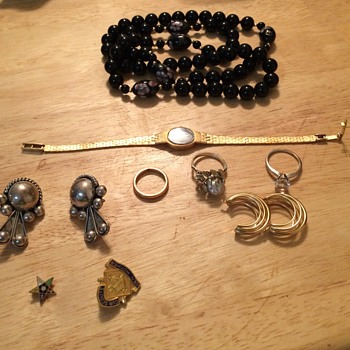 Friday Estate Sale Jewelry Finds - Costume Jewelry