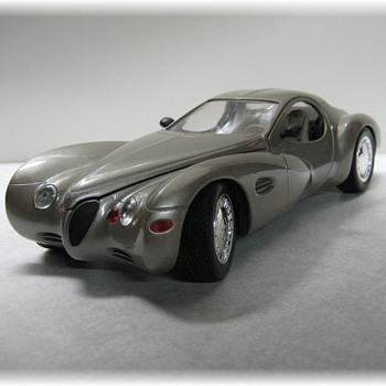 1995 Chrysler Atlantic Concept Die-Cast Replica - Model Cars