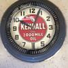 Vintage Kendall spinner clock  50's ?