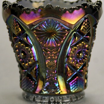 Imperial Carnival Glass Toothpick Holder  - Glassware