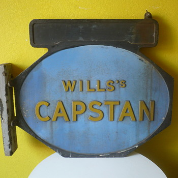 My Wills Capstan sign