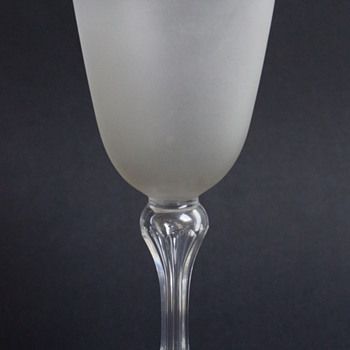 Frosted Goblet - Glassware
