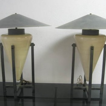 Can anyone identify these unique lamps? - Lamps