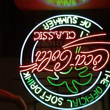 Coke Neon - Signs