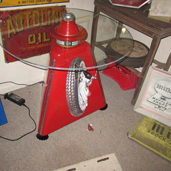 Vintage restored Micro wheel balancer