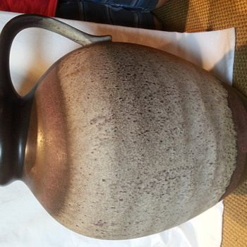 Mid Century Modern West Germany Fat Lava Pottery