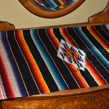 Another Mid-century Saltillo / Serape - Rugs and Textiles