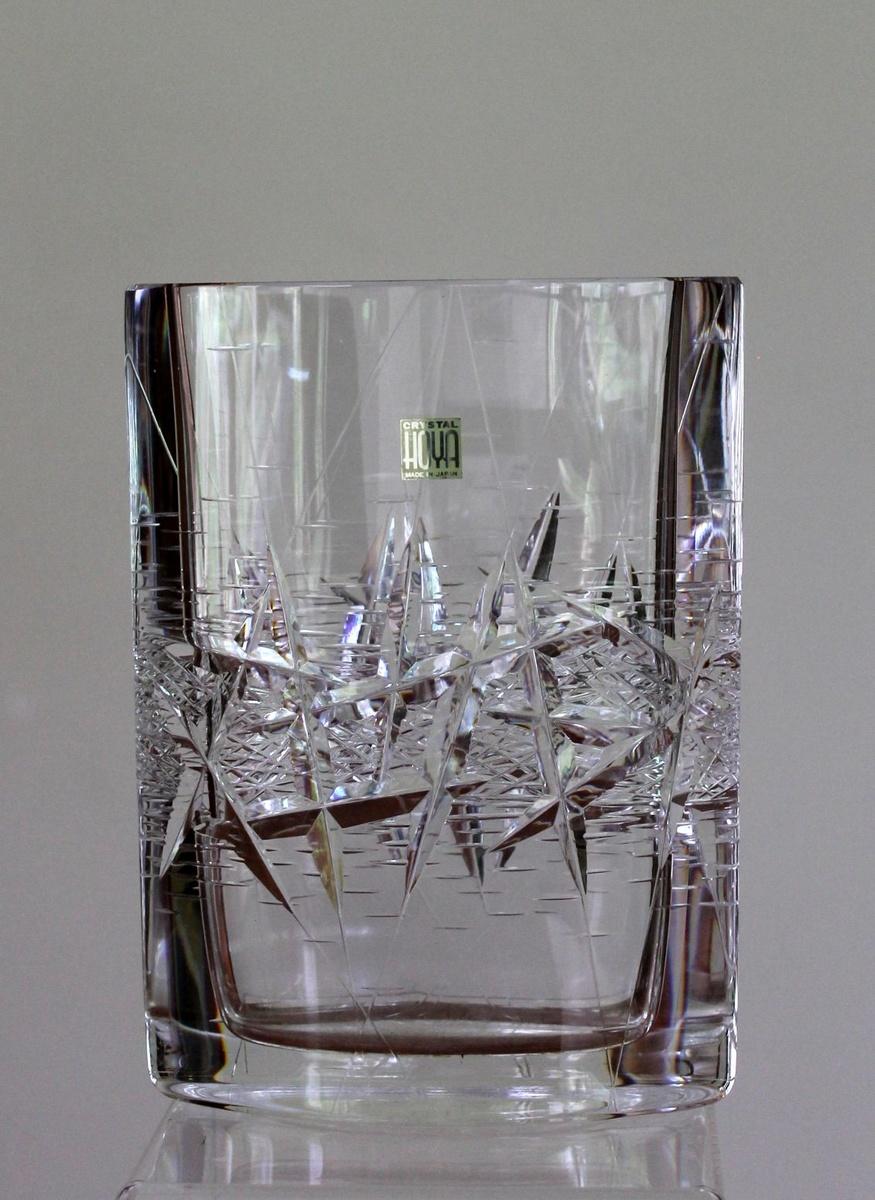 Hoya Cut Crystal Vase Collectors Weekly