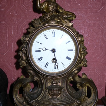 My French clock