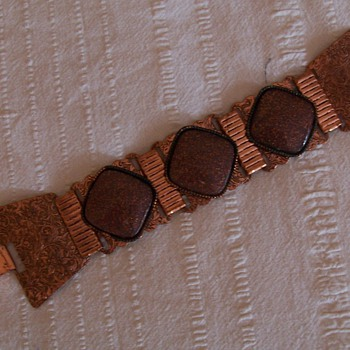nice copper bracelet - Costume Jewelry