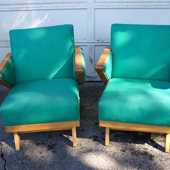 Mid Century Modern Matching Rocking Chairs - Furniture
