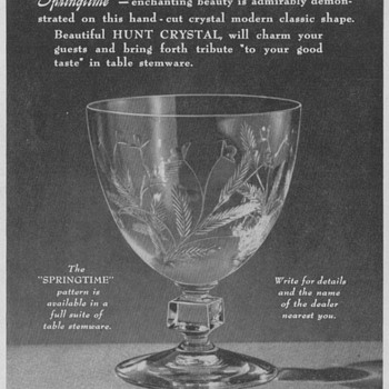 1950 American Glass Advertisements - Assorted