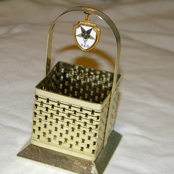 Mini Order of the Eastern Star Basket