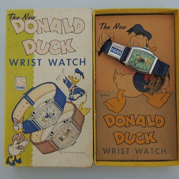 1947 Doanld Duck - Wristwatches