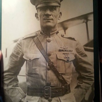 1923 U.S. Marine Pilot original photo!