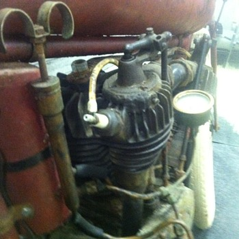 Antique Harley Davidson engine - Motorcycles