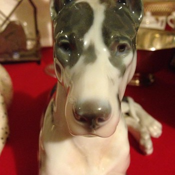 B&G large harlequin great dane