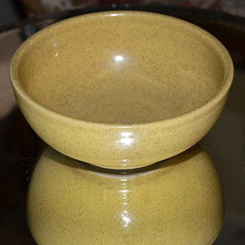 Plain Speckled Bowl - unsigned