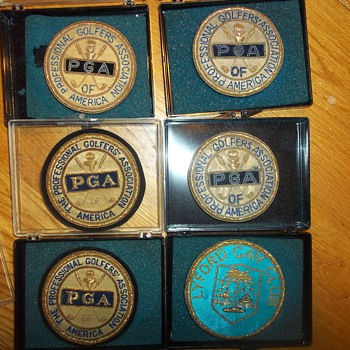 EMBROIDERED PGA BADGES - Medals Pins and Badges