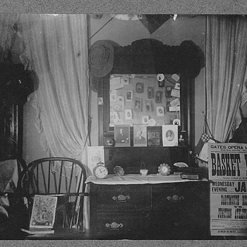 Photo from Our house built 1815, nice room shot, see cabnite card in Mirror - Photographs