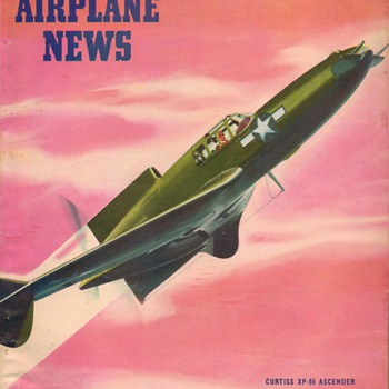 1945 - Model Airplane News magazine - July