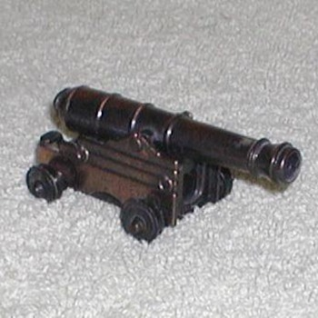 Bronze Naval Cannon Pencil Sharpener