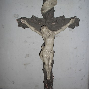 Old, big crucifix