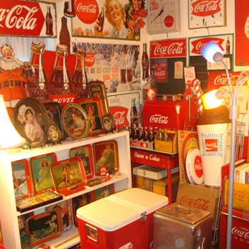 Room Full of Coca-Cola