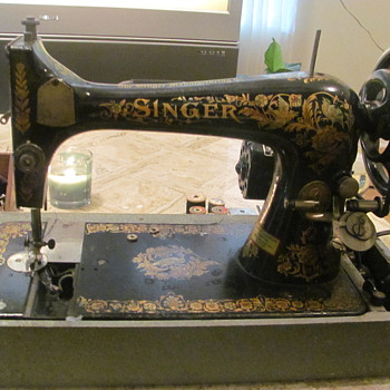 1902 Singer Model K464.168 & Accessories Works!!! - Sewing