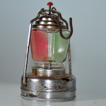 1950's Battery Powered Toy Lantern  - Lamps