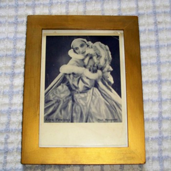 My Anna Pavlova Portrait - Photographs