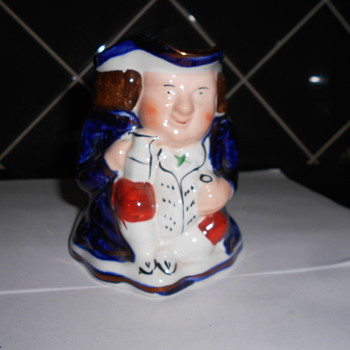 Art Deco Toby Jug