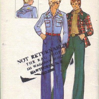Those groovy men fashion patterns
