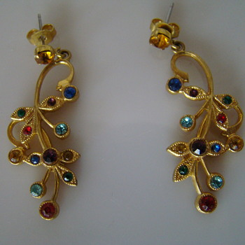 Earrings from 1990s