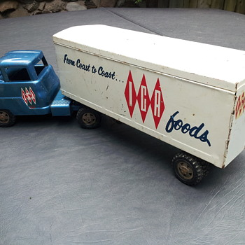 Structo IGA Tractor Trailer - Model Cars