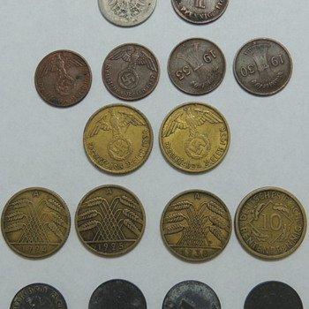 WWII Coins - World Coins